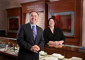 image of owners of Garcia and Company Jewelers in Farmington NM