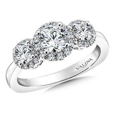 image of 3-stone engagement ring