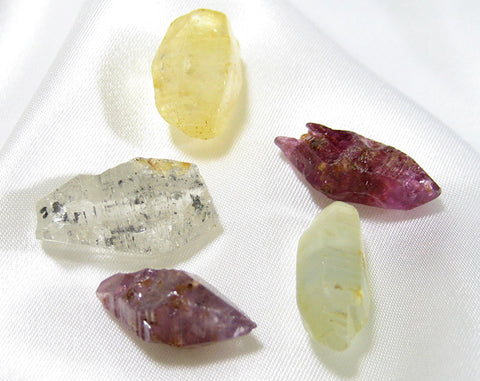 picture of corundum crystals from wikipedia
