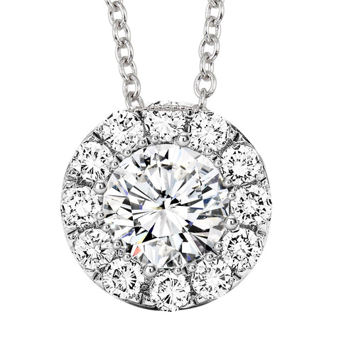 image of diamond solitaire pendant in Farmington, NM