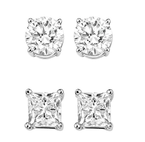 image of diamond stud earrings in Farmington, NM