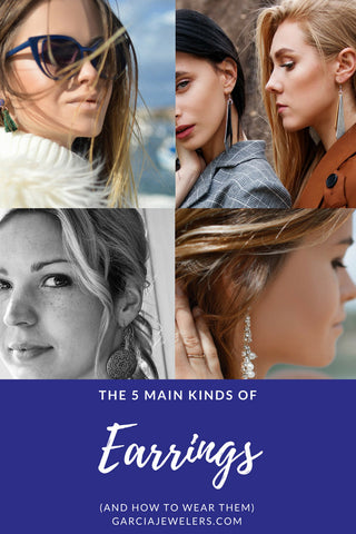 guide to different kinds of earrings cover photo