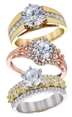 image of engagement rings for Mother's Day in Farmington NM