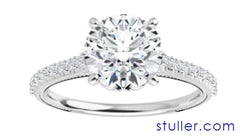 image of diamond engagement ring