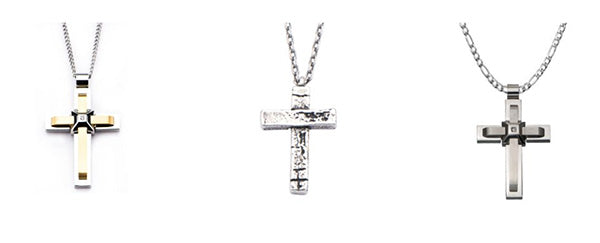 image of cross necklace gifts for men