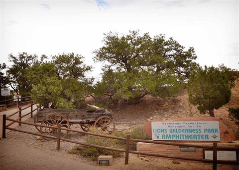 image of Lions Wilderness Amphitheater wedding venue in Farmington NM