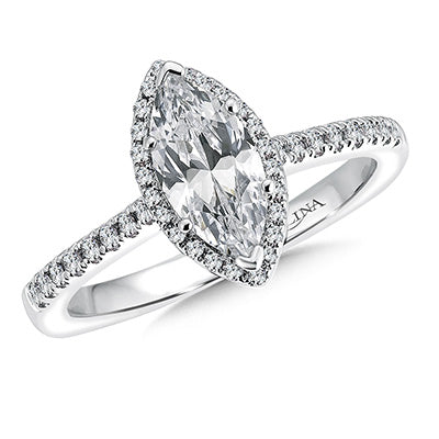 image of marquise diamond engagement ring