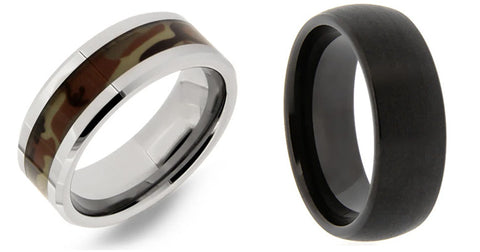 mens wedding bands for valentine's day