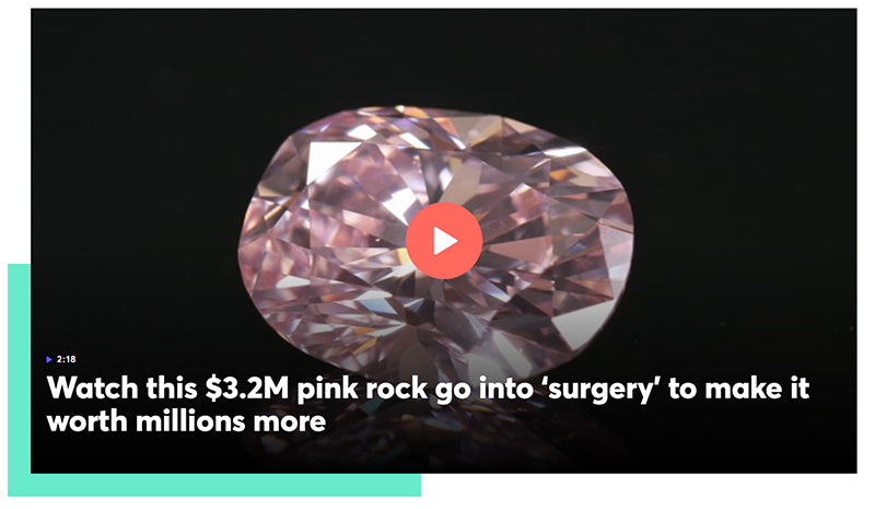 image of pink diamond video