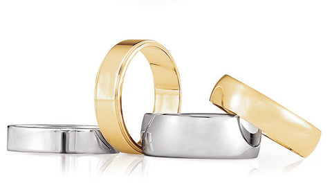 image of mens wedding rings in Farmington NM