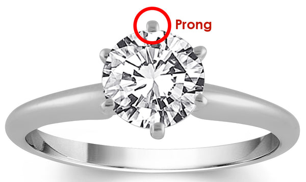 image of a jewelry prong