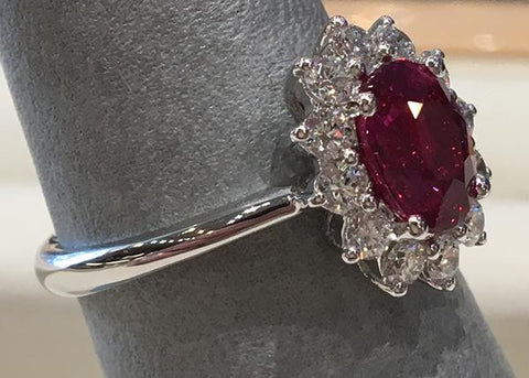 image of ruby ring for Mother's Day in Farmington NM