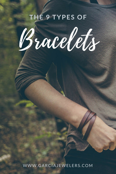 different types of bracelets title image