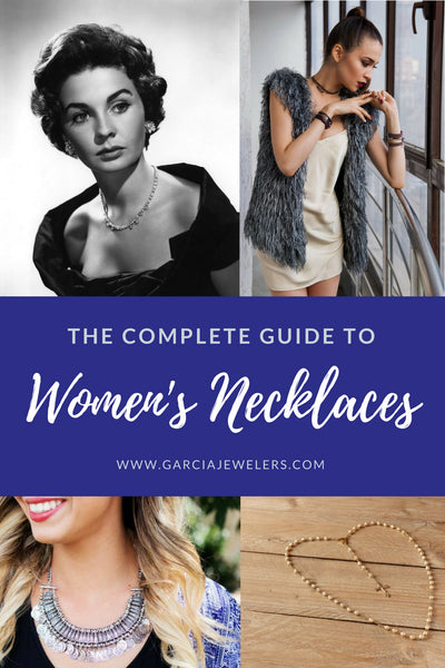 guide to women's necklaces cover image