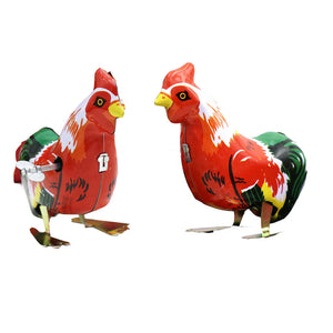 New Cute Chicken Cock Model - Wind Up Toys