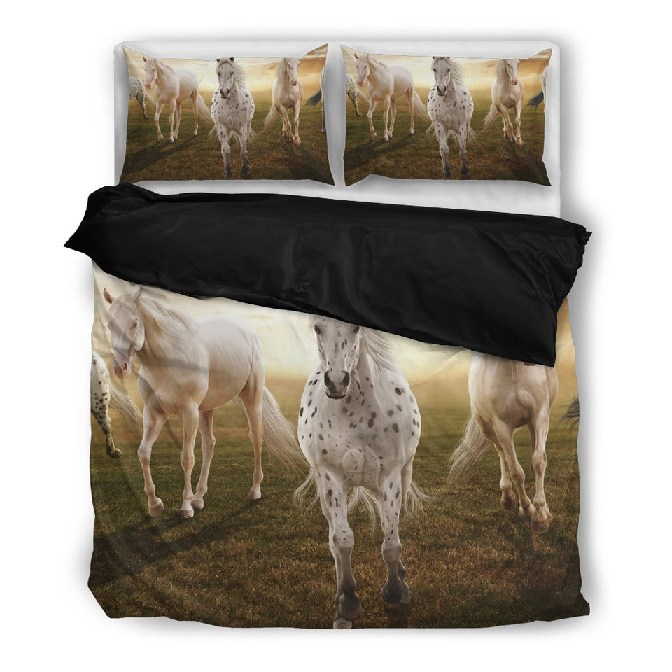 Horse Art Bedding Set