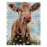 Limited Edition Cow Art Puzzles