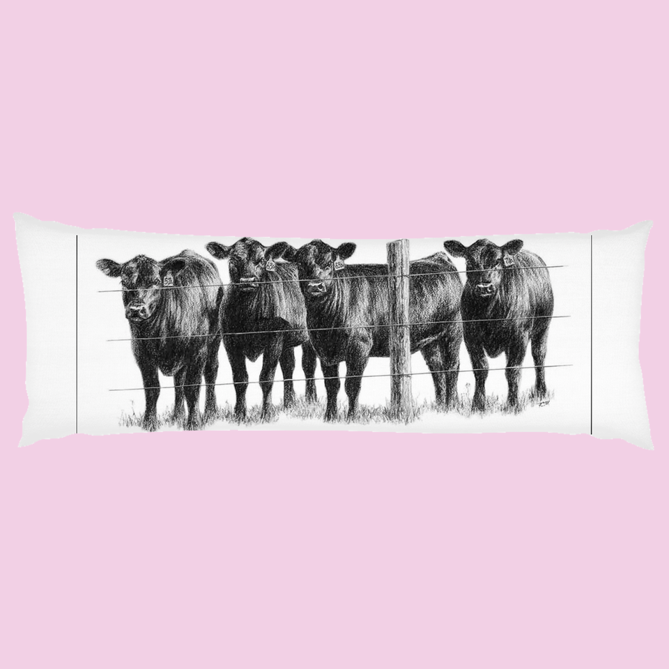 New Body Pillows - Herd That