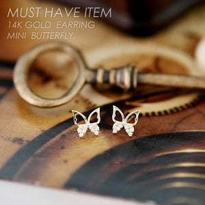 Free Give Away Butterfly Earrings Gift