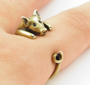 Lucky Pig Rings for Women