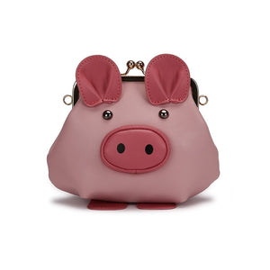 Pig Shoulder Crossbody Leather Bags