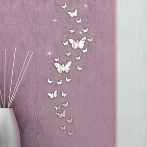 Set 3D Butterfly  Stickers Decoration