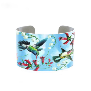 Hummingbird Adjustable Cuff Bracelet