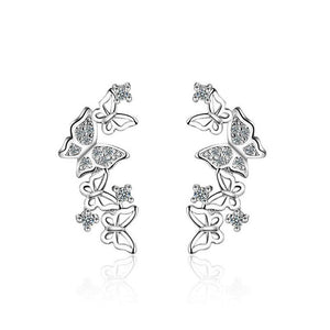 New 3D Butterfly Earrings For Women