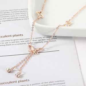 3D Butterfly Anklet