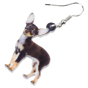 New Chihuahua Dog Earrings For Women