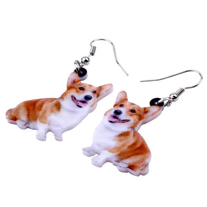 New Smile Welsh Corgi Pembroke Dog Earring For Women