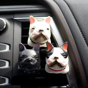 Car Air Fresher Bulldog Auto Smell Perfume