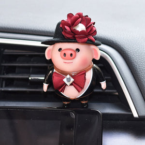 Car Fragrance Clip Pig Air Vent Freshener