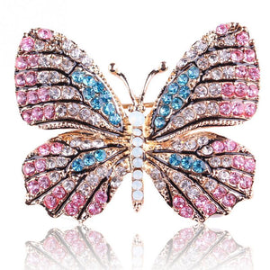Fashion Butterfly Brooches For Women Gift