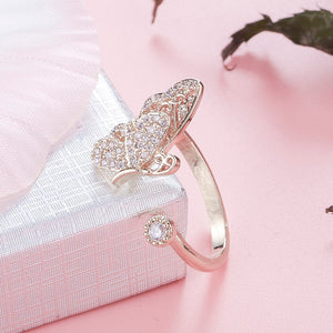 Classic Butterfly Ring