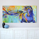 New Arrival Wall Art Canvas Horse Painting Picture