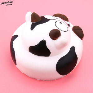 New Fun Cartoon Cow Soft Slow Toy