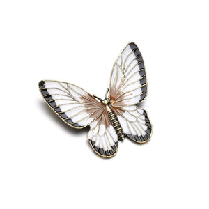 Big Vintage Butterfly Brooch
