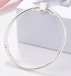 100% Real 925 Sterling Silver Bracelet for Women