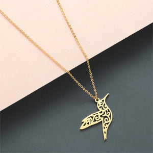 Hummingbird Long Necklace