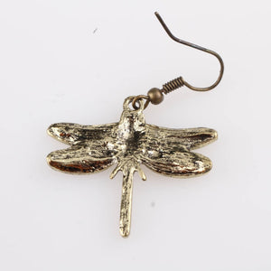 Antique Dragonfly Earrings