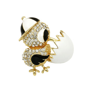 New Hatching Chicken From Egg Brooches for Women