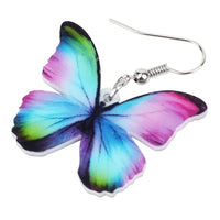 New Floral Butterfly Earrings For Women Girls