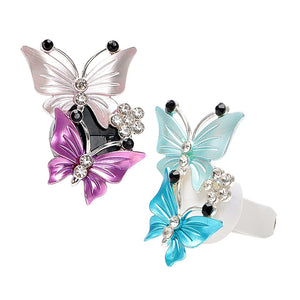 Butterfly Air Freshener Clip Car Perfume Decoration