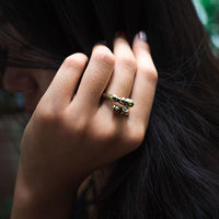 Rustic Vintage Horseshoe Ring