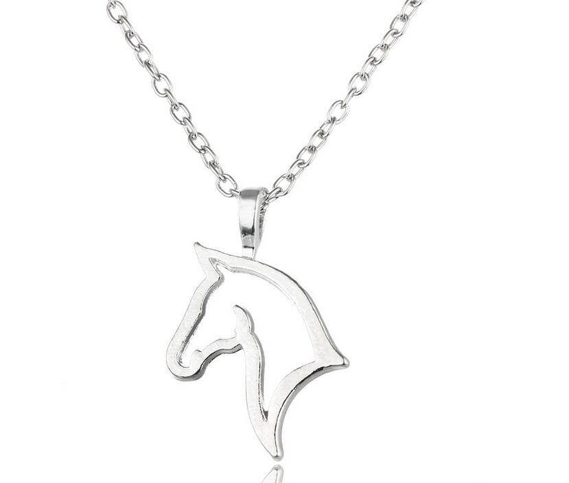 Horse Metal Necklace