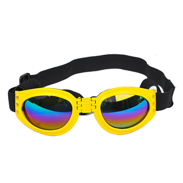 2017 New Fashionable Water-Proof Multi-Color Pet Dog Sunglasses Eye Wear Protection