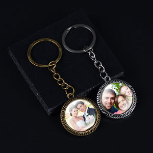 PERSONALIZED PHOTO Custom Keychain