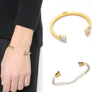 Fashion Gold & silver color Horseshoe Bracelets Women