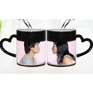 Customize Photo Magic Color Changing Coffee Mug
